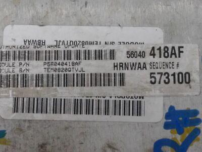 2001 DODGE RAM TRUCK 1500 3.9L V6 M//T GAS Engine Computer ECM PCM PCU ECU