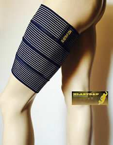 Maintien Articulaire Musculaire Cuisse Decathlon Nike Adidas Thuasne Elastrap Fabrication Habile