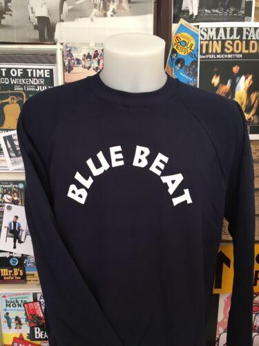 Blue Beat Sweatshirt-vintage Ska-reggae-Jamaica-1960s