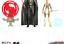 Nave espacial da série Star Wars Rebels Boneco de 3.75 Polegadas 2-Pack Missão Espacial Darth Vader e Ahsoka...