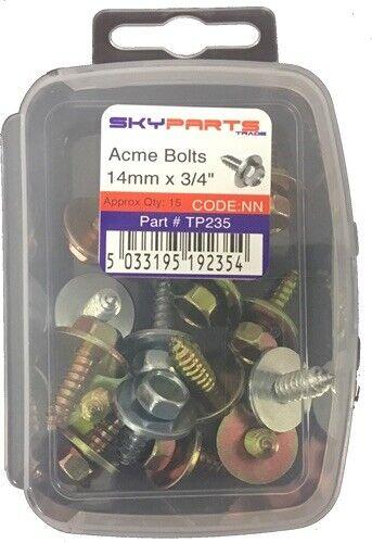 Sky Pièces TP235 Voiture Van Automotive Accessoire matériel ACME Boulons 14 mm