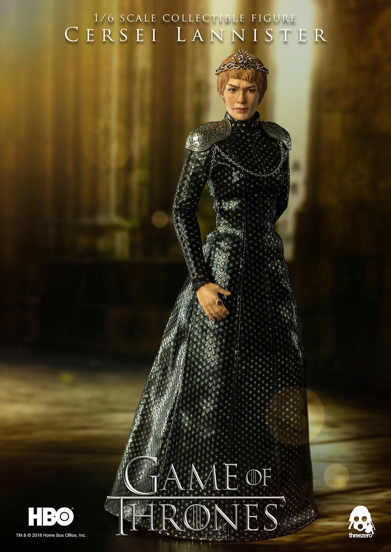 Threezero 3Z0064 HBO Game Of Thrones Cersei Lannister 1 6 Azione Figura in