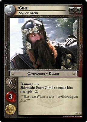 LOTR TCG  1R13 Gimli Son of Gloin