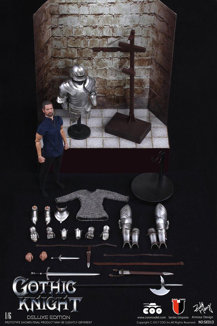 Caballero Gótico Coomodel NO.SE013 1:6 (edición exclusiva) Aleación Diecast Caja Figura