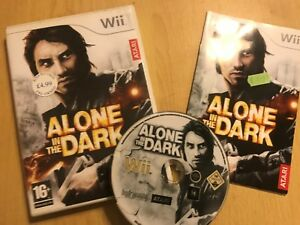 NINTENDO-Wii-GAME-ALONE-IN-THE-DARK-BOX-amp-INSTRUCTIONS-COMPLETE-PAL