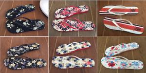 8c4a741408db70 Summer 2018 NEW!! Tory Burch Flat Sole Flip Flops Wedge Size 6 7 8 9 ...