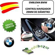 EMBLEMA LOGO PEGATINA BMW BOTÓN MULTIMEDIA 29 MM AUTOADHESIVO