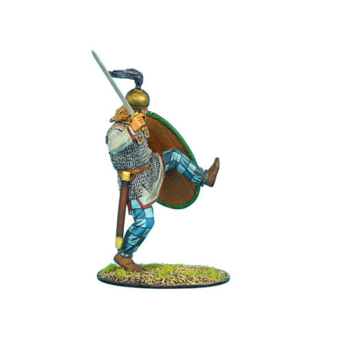 ROM033 German Warrior Kicking with Sword by First Legion