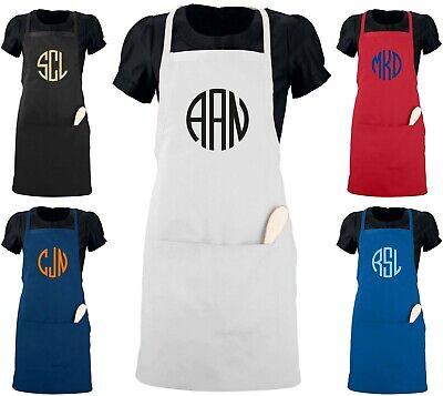 Server Waitress Apron Customized with Name Logo Monogram Custom Unisex Men Women Restaurant