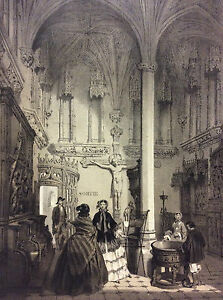 Large-Print-de-Paris-Musee-de-Cluny-in-1866-Superb