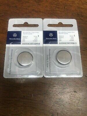 OEM Genuine Mercedes Benz Remote Keyless Key Entry Battery 2-Pack