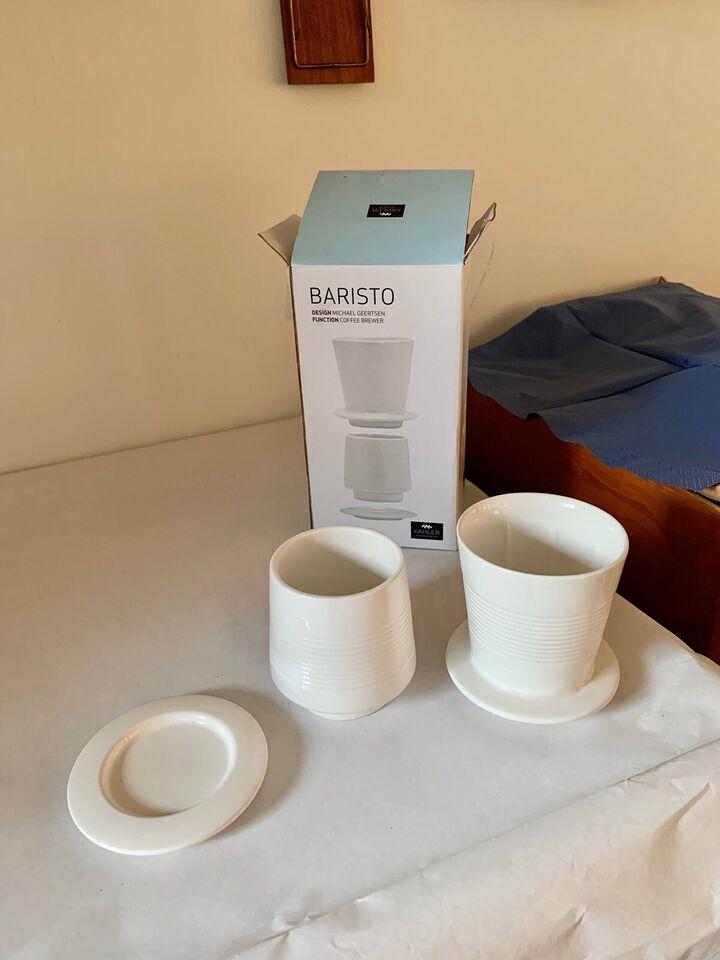 Porcelæn, Baristo coffee brewer, Kähler HAK