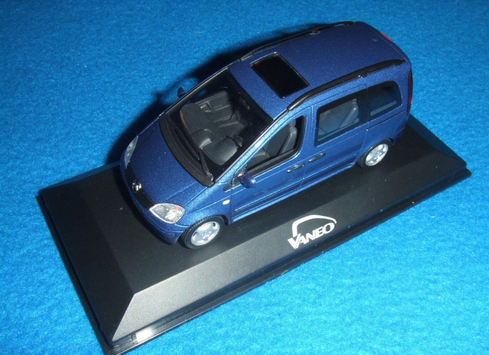 Mercedes Benz W 414 - Vaneo 2004 Jasper bluee 1 43 Nip Minichamps