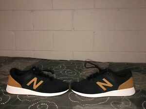 6ac0176612 Details about New Balance 24 Mens Athletic Running Training Shoes Size 9  Black Tan MRL24CRA