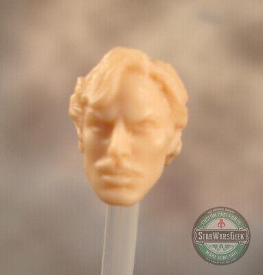 "MH068 Custom Cast head use w//3.75/"" Star Wars GI Joe Acid Rain action figures"