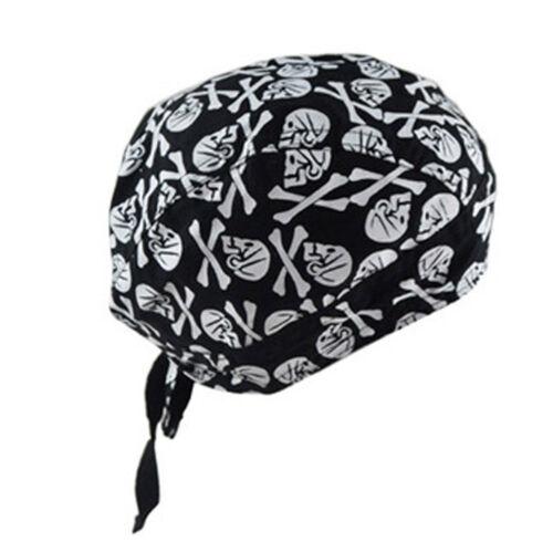 1tlg Bandana Piratentuch Motorrad Biker Kochen Tuch Kopftuch  Kappe 11 Typen Gut