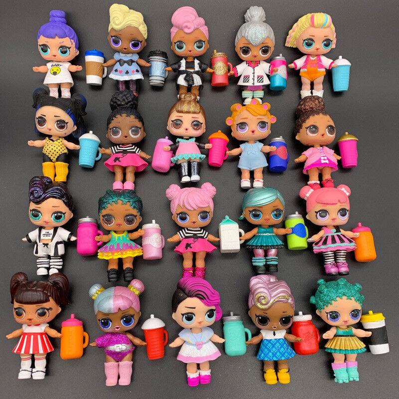 Lot 20X LOL Surprise Random Dolls with Random Dress shoes Bottle Gift 405 UK