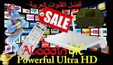 2017 Latest Powerful 4K Arabic IPTV Quad Core Ulta HD TV Receiver Box WiFi +Gift