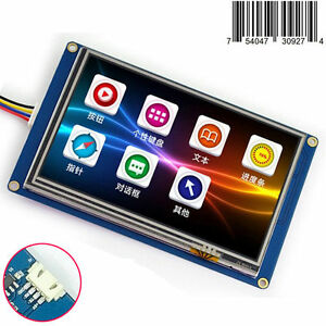 "5.0/"" Nextion HMI Intelligent USART Serial TFT LCD Module Display w// Touch Panel"