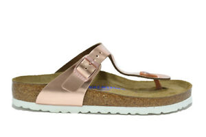Slippers Sandalias Metallic Gizeh Copper Birkenstock Chanclas ybgvf7Y6