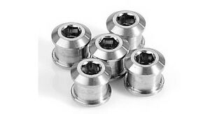 J/&L MTB Single//Double ChainRing Bolts//Screws for SRAM,Shimano,Raceface,FSA-2*10