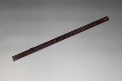 Ebony Black Wood Jizai Adjustable Sliding Hook for Hanging Scroll painting