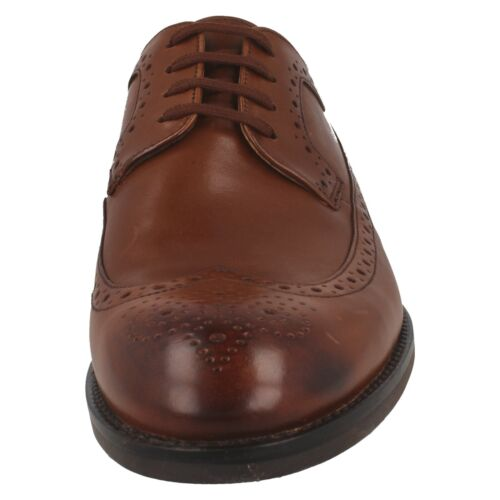 Details about  /RONNIE LIMIT MENS CLARKS LEATHER FORMAL WEDDING LACE UP OCCASION WING TIP SHOES