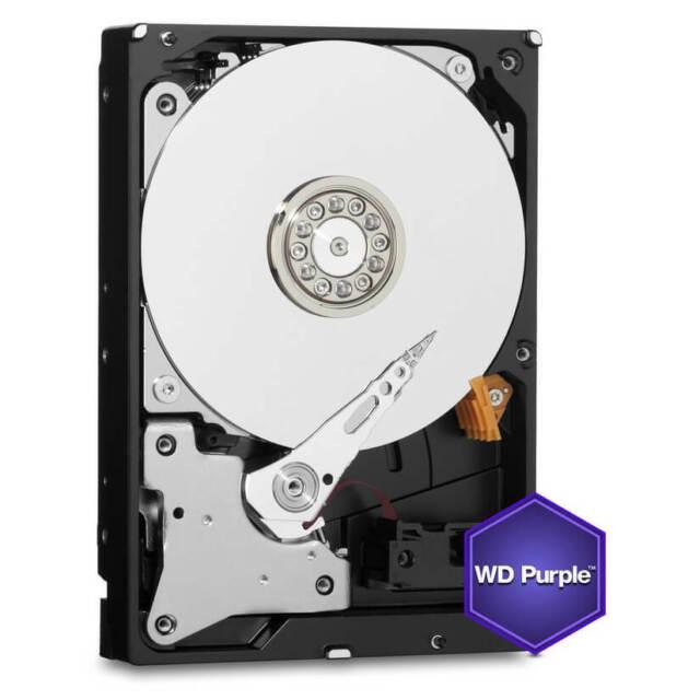 """Western Digital Purple WD60PURZ 3.5"""" PURPLE,6TB Intellipower 64MB SATA III(6Gbps"""