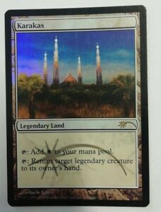 KARAKAS-Magic-the-Gathering-INGLESE-ENGLISH-Judge-Rewards-Promos-MTG-FOIL