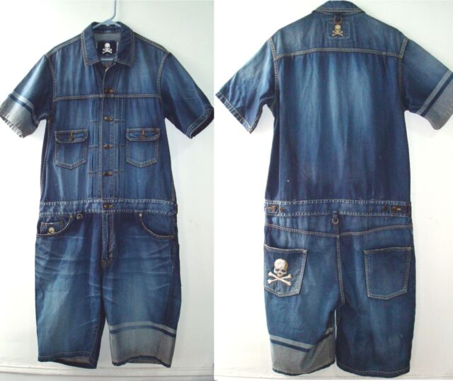 Mastermind Japan over-all jeans, made in japan roen roar guns