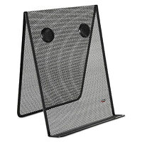 Rolodex Mesh Document Holder Stainless Steel Black Fg9c9500bla on sale