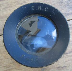 Ancien Objectif C.r.c F 120 Cinema Photo