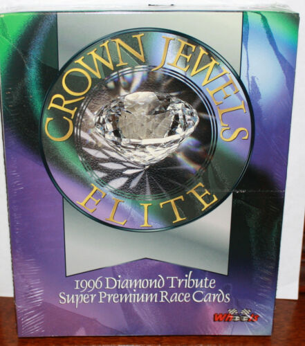 VERY RARE 1996 WHEELS CROWN JEWELS ELITE 24 PACK DIAMOND TRIBUTE FACTORY SEALED!