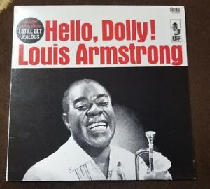 Vintage-1964-Louis-Armstrong-034-Hello-Dolly-034-LP-KNAPP-Records-KS-3364-NM