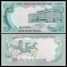South Vietnam Viet Nam 50 Dong, ND(1972), P-30, A-UNC