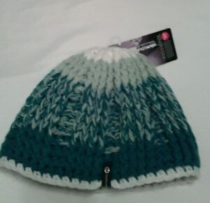 Rossignol NWT Teal Knitted Beanie Cap Hat Ski Winter Retro Toque  cc007c5eb9a8