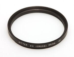 Gitterfilter-6x-Cross-Filterfassung-E58