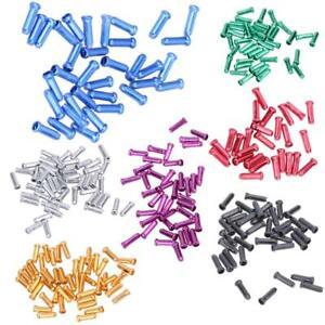 Lot-EMBOUT-CABLE-FREIN-DERAILLEUR-couleur-4-mm-VELO-VTT-ROUTE-VINTAGE-BMX-bague