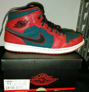 Air Size Sea 11 Gym Jordan 633206 Mid Red 1 2013 Dark 608 Nike CBedxoWr