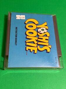 ORIGINAL-NINTENDO-NES-CLASSIC-100-Working-PUZZLE-Game-MANUAL-YOSHI-S-COOKI
