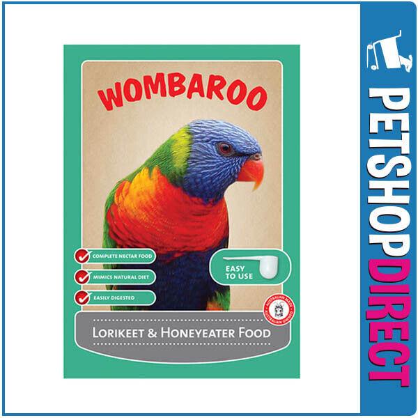 Wombaroo Lorikeet and Honeyeater Food 300g