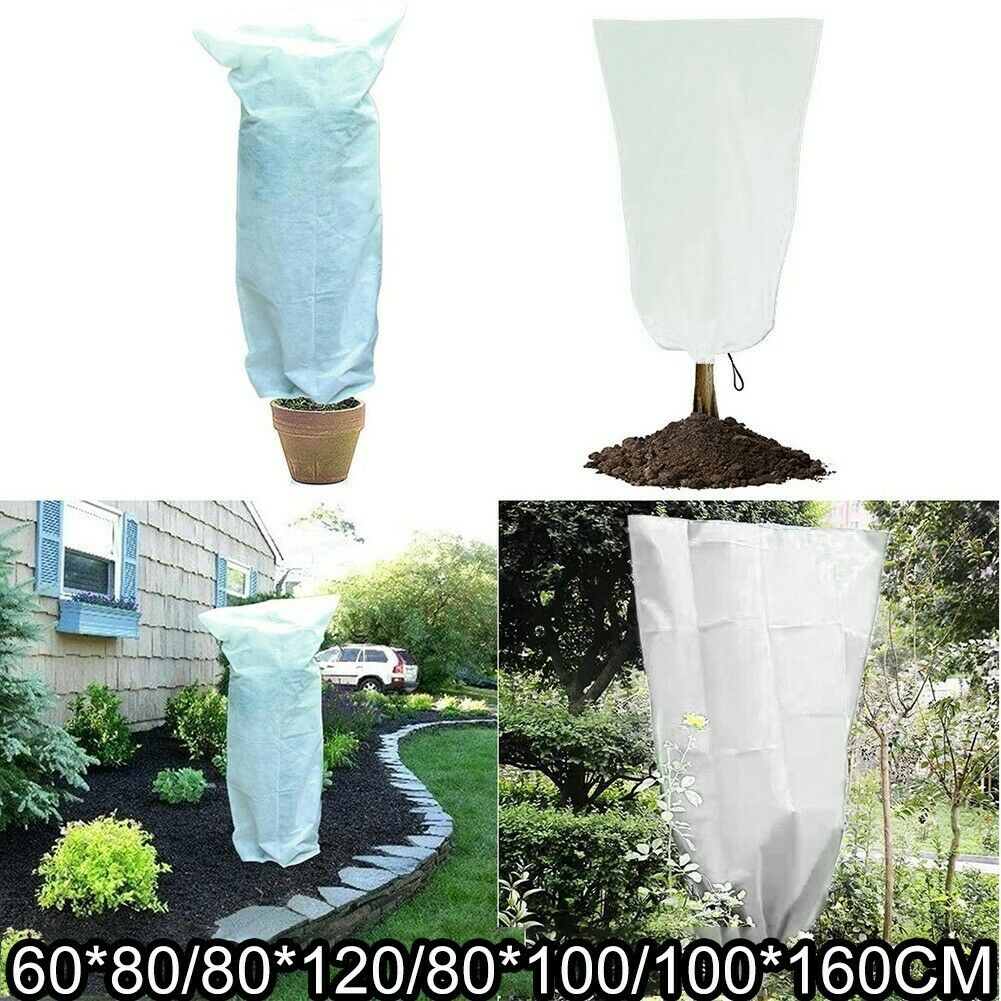 Garden Plant Cover Warm Jacket Frost Protection Bag Tree Protector Anti Freeze