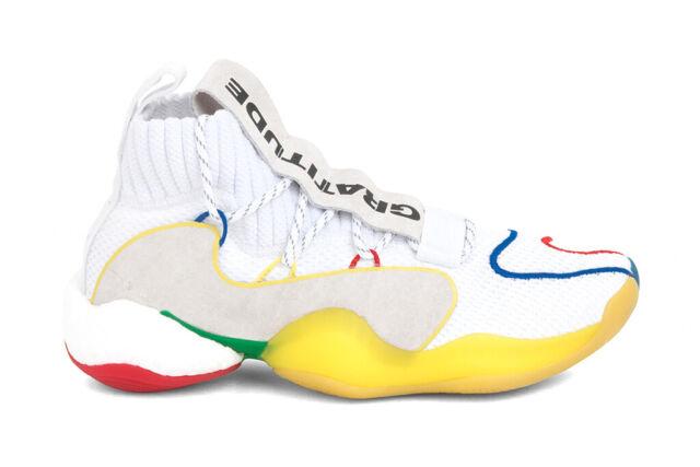 best authentic 2c0f6 8b378 Adidas Originals x Pharrell Williams Crazy BYW LVL X Footwear White/Supplier
