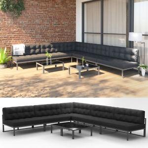 Alu Gartenmobel Lounge Set Palettenkissen Gartenlounge
