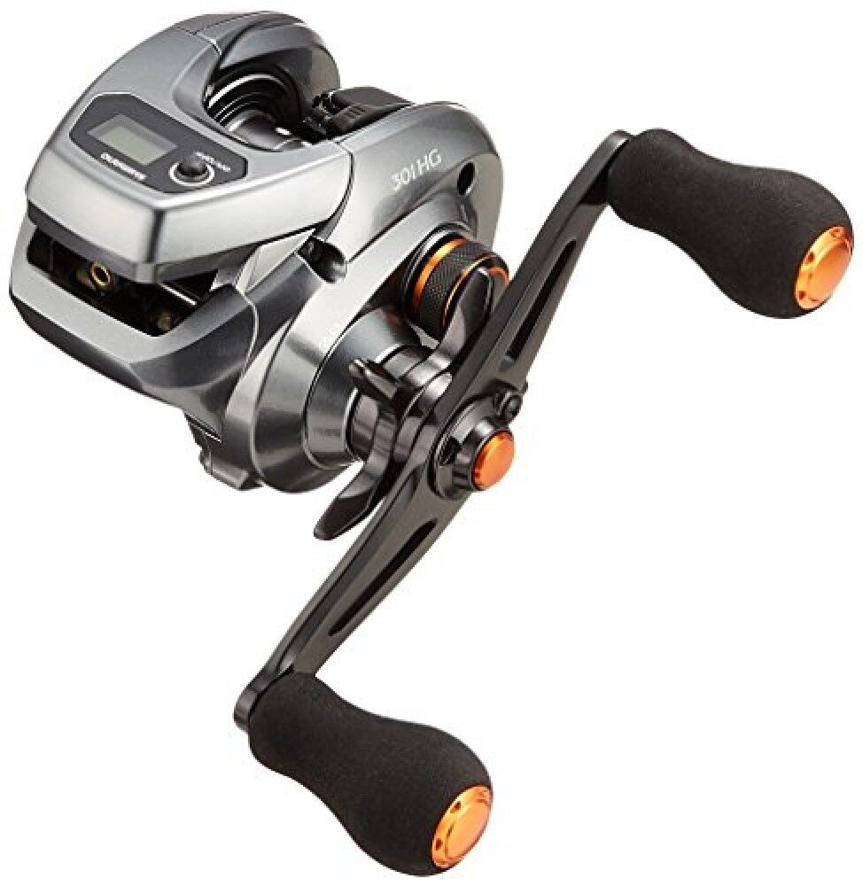 Shimano 17 Barchetta 301HG LH Lightweight Bait Casting Reel with Counter New F/S