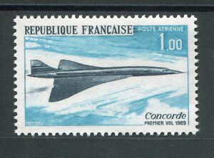 DéTerminé France - 1969 - Yvert 43 Aérien - Concorde - Neuf**