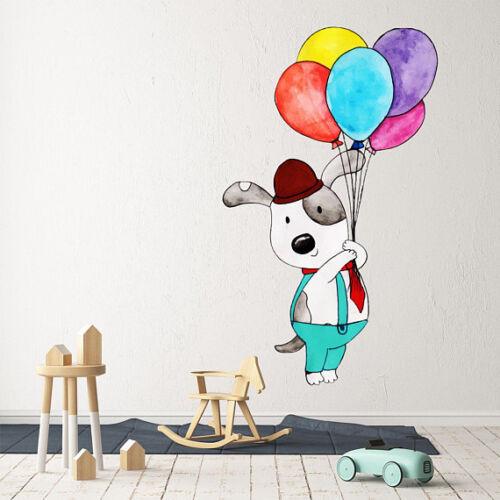 Details about  /3D Dog Balloon 433 Wallpaper Murals Floor Wall Print Decal Wall Sticker AU