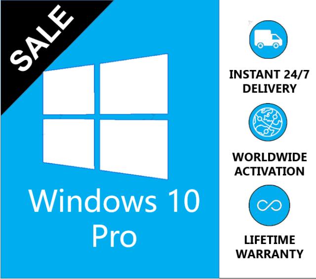 Windows 10 Professional Product Key Full Version Worldwide Use Win 10Pro INSTANT