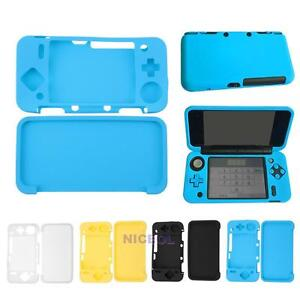 For New Nintendo 2ds Xl 2ds Ll Game Soft Silicone Cover Skin Case