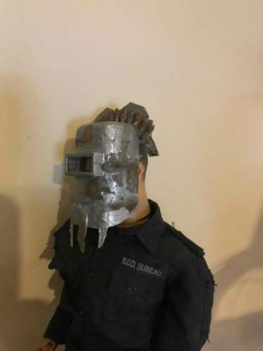 1//6 Scale post apocalyptique Soudeur Casque Weathered